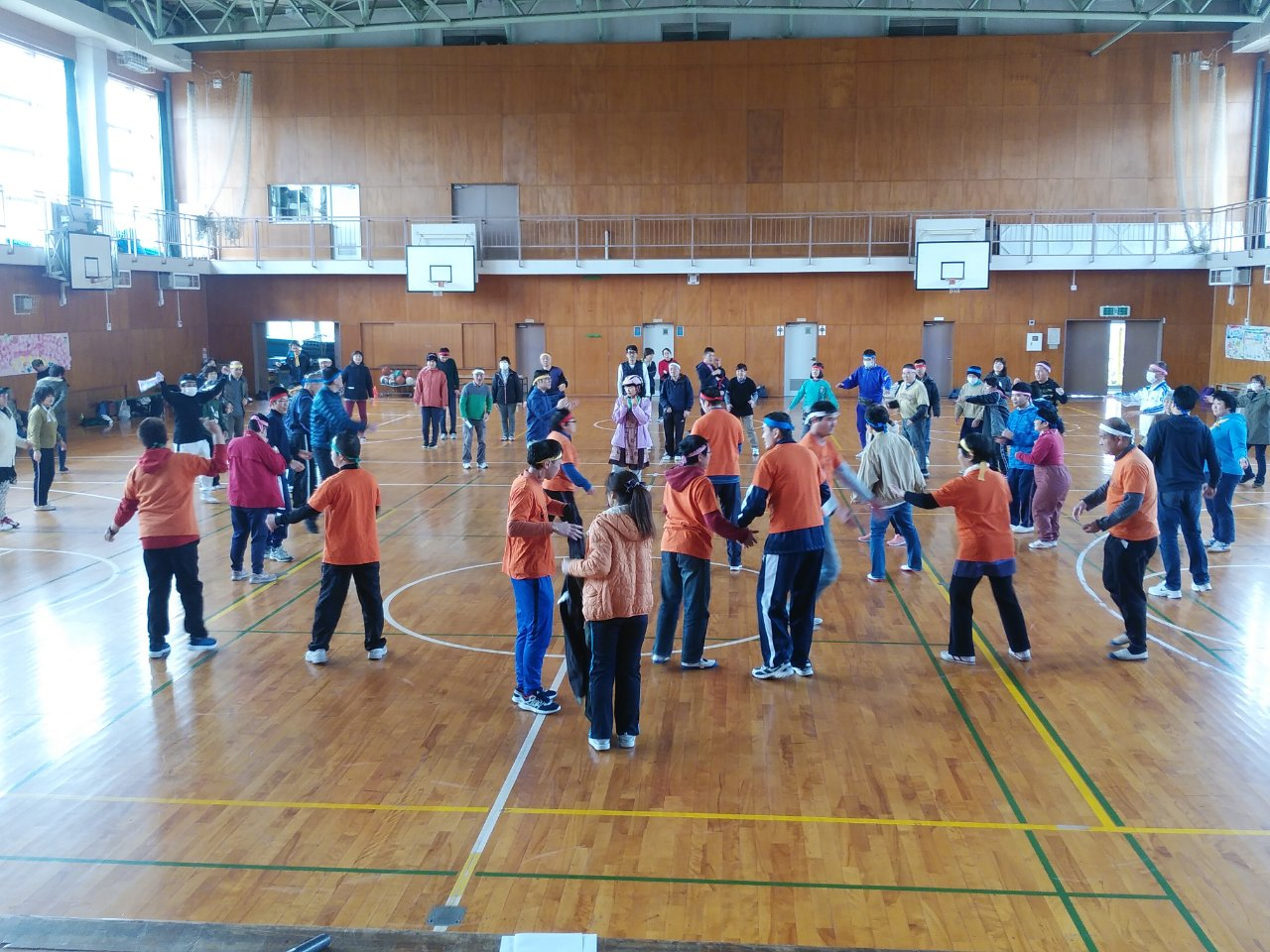 合同運動会2フォークダンス